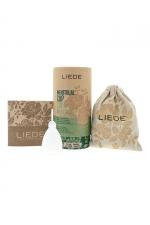 Cup menstruelle blanche petite taille - Liebe : Coupe menstruelle 100% silicone, pratique et hygiénique, écologique et réutilisable, modèle taille S coloris blanc, marque Liebe.