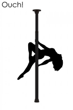 Barre de Pole Dance - Noir